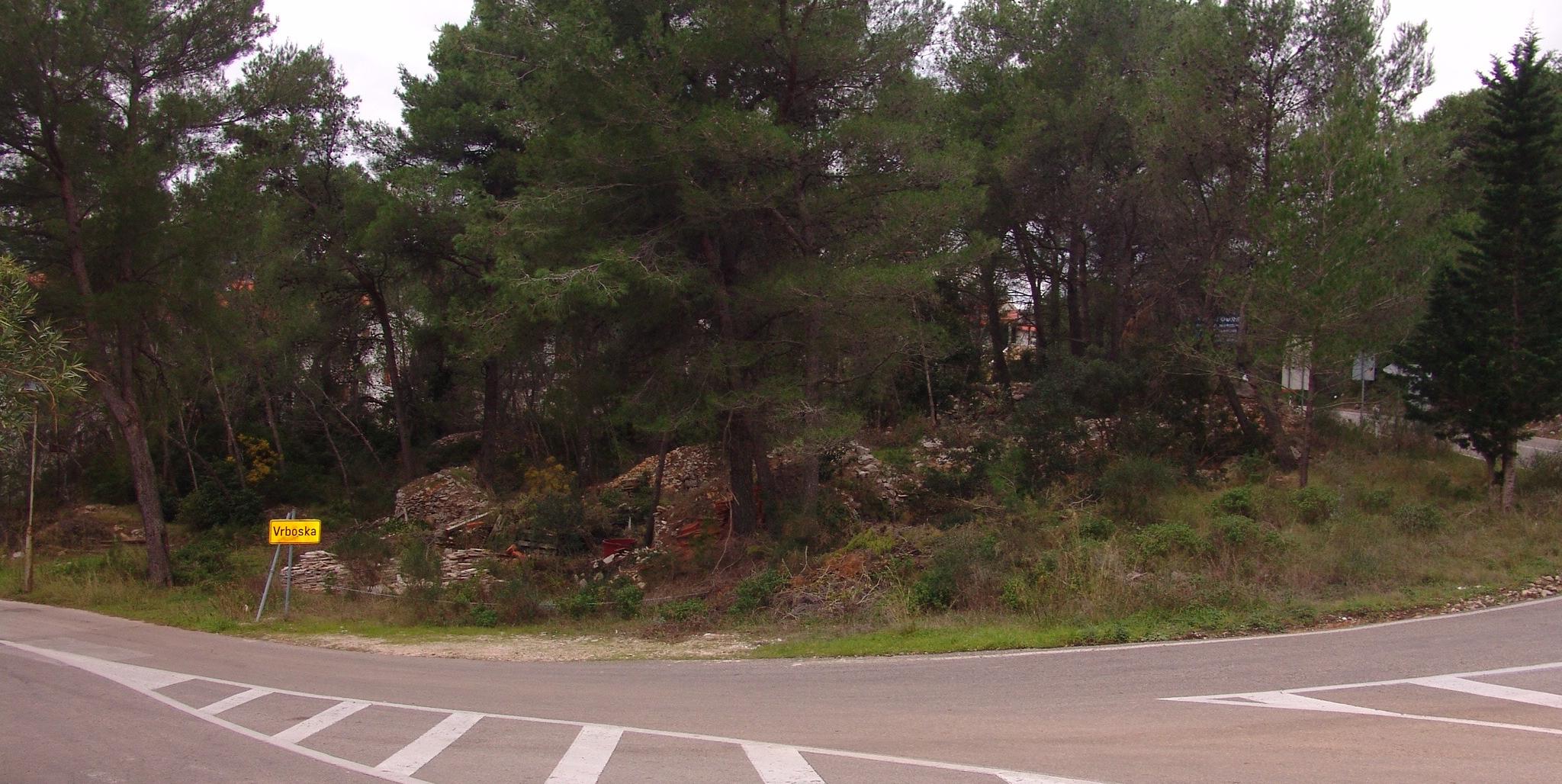 A large plot of Building land for sale in Vrboska Hvar Island