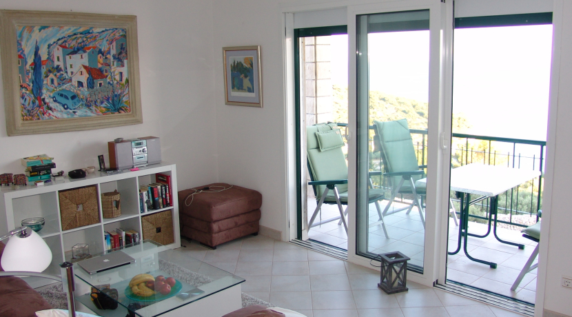 A Penthouse apartment with sea views in Hvar town