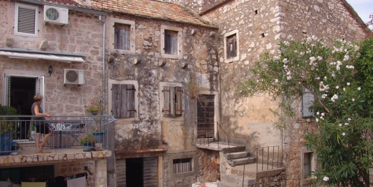 classic stone house needing renovation Stari Grad Hvar Island