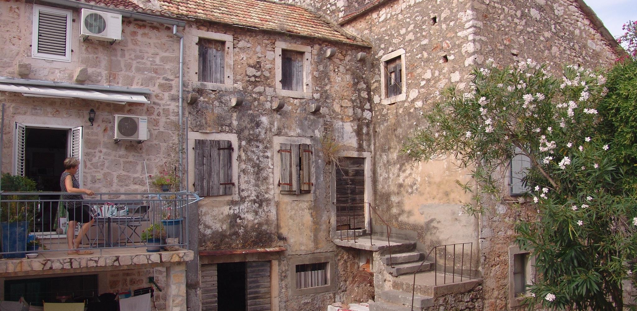 Classic stone house Stari Grad Hvar Island
