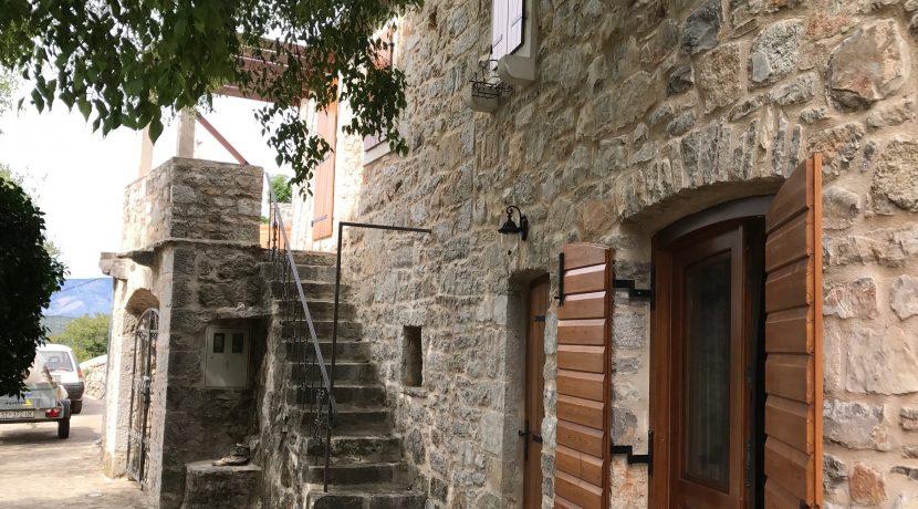 restored stone house on Hvar Island