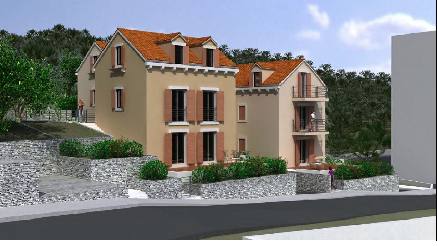 Coming soon exclusive newly built apartments in Hvar town centre