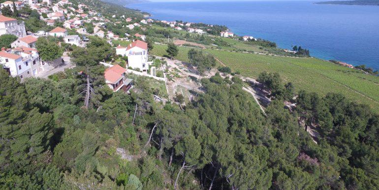 land with building permit Hvar island