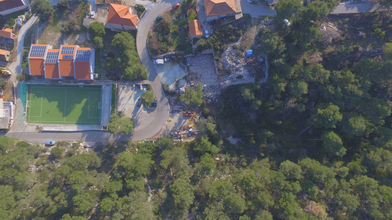 Excellent building land on Hvar island for sale