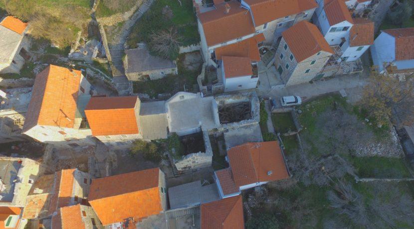 old stone house for sale on Hvar