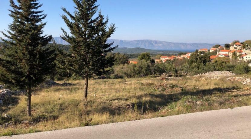 building land for sale on Hvar