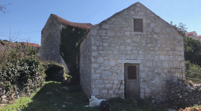 Stone ruin for sale on Hvar