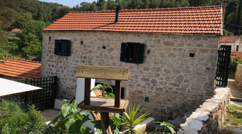 stone house Hvar Island