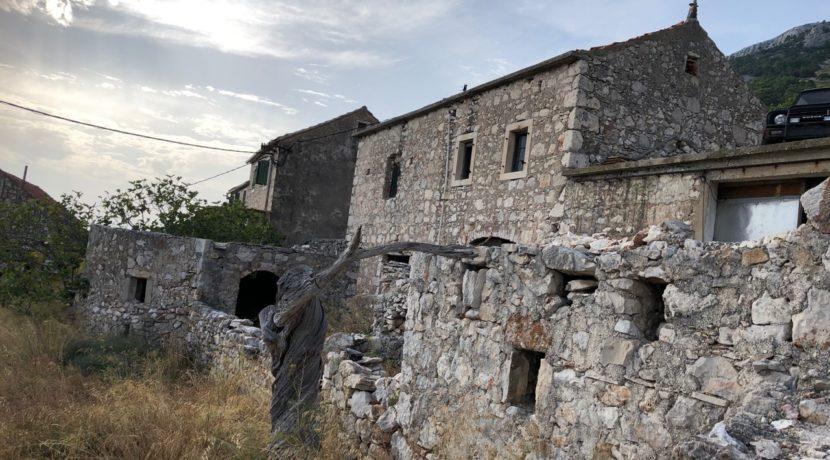 stone house property for sale on Hvar Croatia