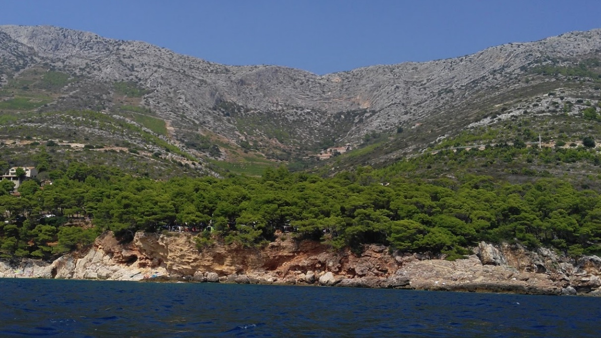A lovely building plot on Hvar with a full building permit and swimming pool