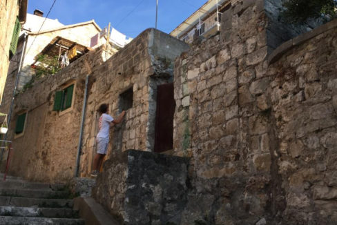 stone ruin for refurbishment Hvar