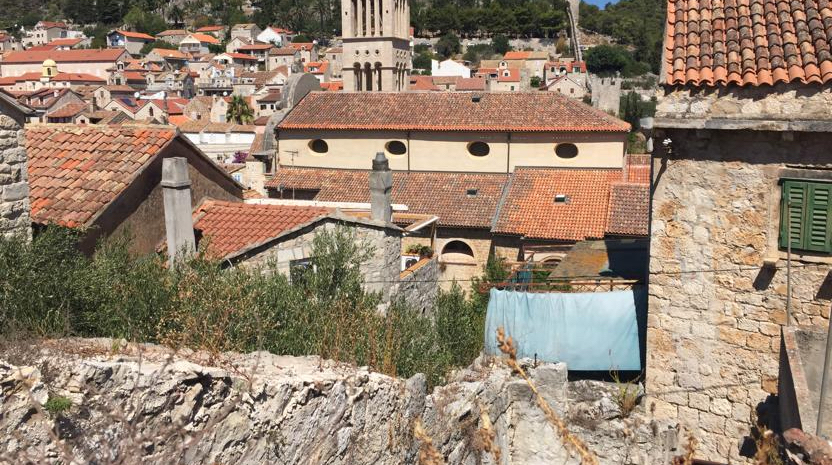 stone ruin for refurbishment Hvar