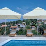 stone house with swimming pool on Hvar